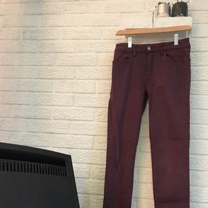 American Eagle high-waisted stretch jegging